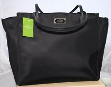 New Kate Spade Taden Blake Avenue Black Shoulder Bag Shopper Tote Large Purse