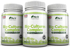 Nu U Probiotics 540 Capsules 10 Billion Forming CFU's yeast infections leaky gut