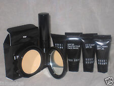 NEW MINI/TRAVEL BOBBI BROWN BEIGE MOISTURIZING CREAM FND + OTHER 5 ITEMS SET