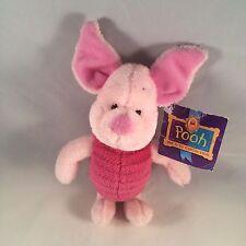"NWT Disney Gund Piglet 10"" inch Beanie Plush Winnie the Pooh"