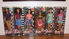 Barbie 2016 Fashionistas 6 Doll Lot Latino Curvy, Tall, Petite NEW LINE