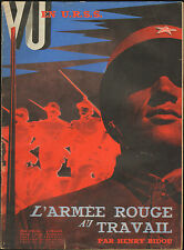 NUMERO SPECIAL ARMEE ROUGE RED ARMY URSS USSR RUSSIE BLANCHE WHITE RUSSIA 1935
