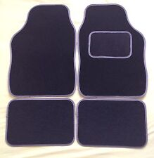 GREY TRIM CAR FLOOR MATS FOR VOLKSWAGON GOLF POLO PASSAT LUPO JETTA SCIROCCO