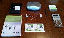 Phonak Audeo S Smart IX hearing aids -  Excellent Condition, Like New!