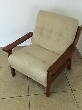 70er Jahre Teak Sessel Easy Chair Loungechair Glostrup Denmark Danish Design