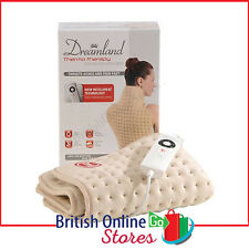 Dreamland 16055 Thermo Therapy Neck Back and Shoulder Heated Wrap in Cream