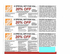 3---20%-- OFF HOME DEPOT Competitors Coupon To BE USED AT LOWE'S -- 7/31/17