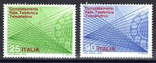 Italy - 1970 Automation telephone network - Mi. 1323-24 MNH
