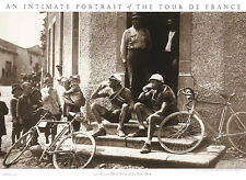 Tour de France SWISS RACERS TAKE BEER BREAK Classic 1920s Cycling POSTER Print