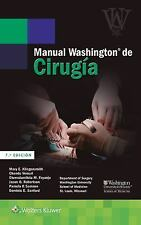 Manual Washington de Cirugía by Mary E. Klingensmith (2016, Paperback, Revised)