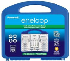 Panasonic K-KJ17MCC82A eneloop Power Pack NEW 2100 Cycle,8AA,2AAA.by Eneloop NEW