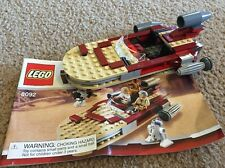LEGO 8092 Star Wars - LUKE'S LANDSPEEDER - Vehicle, Box & Instructions Only