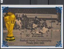 XG-Z010 KOREA - Football, 1985 Mexico 1986 World Cup Finals MNH Sheet