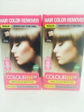 2 Boxes Of Colour B4 Hair Color Remover Removes Unwanted Dye From your Hair