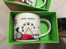 Brand NEW STARBUCKS NEW JERSEY You Are Here MUG NYC New Collector