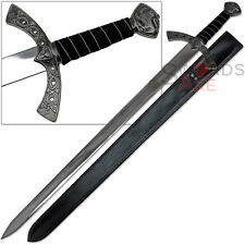 Temple of Judgement Knightly Lion Longsword Holy Grail Viking-styled Hilt Sword