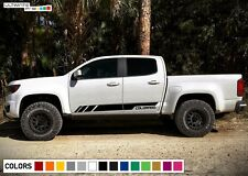 Decal Sticker Vinyl Side Stripe kit For Chevrolet Colorado Z71 Off Road Bed 4x4
