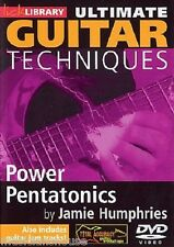 LICK LIBRARY ULTIMATE GUITAR TECHNIQUES POWER PENTATONICS Learn to Play Rock DVD