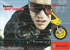 GILERA RUNNER 50 SP PURE JET RACING REPLICA PROSPEKT 2003 brochure OPUSCOLO