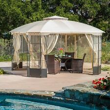 Elegant Outdoor Patio Furniture Steel Canopy Gazebo