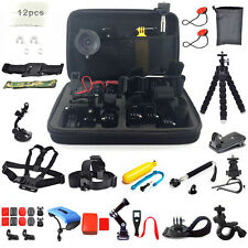 50 in1 Head Chest Mount Floating Monopod Accessories Kit For GoPro 3 4 5 Camera