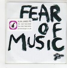 (FN298) Fear Of Music, Skin And Bones - DJ CD