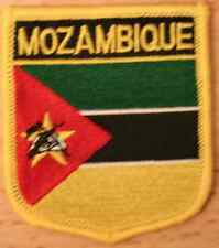 Mozambique Shield Country Flag Embroidered PATCH Badge P1