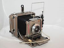 Linhof 4x5 Super Technika IV field camera kit. Camera, lens, grip, sport finder