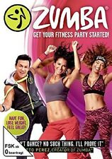 ZUMBA - GET YOUR FITNESS PARTY STARTED  DVD NEU