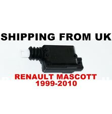 CENTRAL LOCKING MOTOR DOOR LOCK ACTUATOR for RENAULT MASCOTT 1999-2010 BRAND NEW