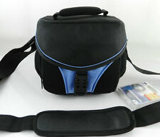 Camera Bag Case For Nikon D3000 D50 D5000 D60 P500 P100 D3100 D3200 D5100 Blue