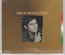 FRED BONGUSTO GOLD ITALIA COLLECTION CD SIGILLATO!!!