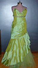 TONY BOWLS LE GALA PROM DRESS, beaded and sparkly, size 14