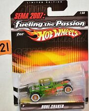 SEMA 2007 FUELING THE PASSION FOR HOT WHEELS BONE SHAKER 1:50