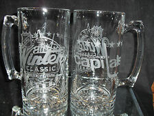 2015 NHL SPECIAL EDITION WINTER CLASSIC WASHINGTON CAPITALS ETCHED 25oz MUGS