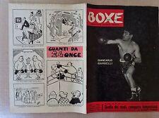 PUGILATO 1957 RIVISTA BOXE NEL MONDO GIANCARLO GARBELLI TIBERIO MITRI DUILIO LOI