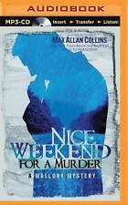 A Mallory Novel: Nice Weekend for a Murder by Max Allan Collins (2015, MP3...