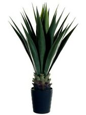"41"" ARTIFICIAL PLANT IN OUTDOOR SISAL PALM TREE TOPIARY 4 5 PATIO AGAVE POT POOL"
