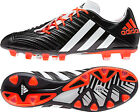 Adidas Predator Incurza Rugby Football Soccer Boots Black Wht Infra Red RRP £160