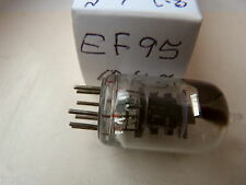 EF95 6AK5 SQUARE GETTER BLACK PLATE   NOS  VALVE TUBE F