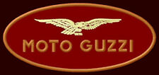 """MOTO GUZZI EMBROIDERED PATCH ~4-3/4"""" x 2"""" MOTORCYCLE CENTAURO CALIFORNIA LE MANS"""