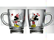 36007 DISNEY MICKEY & MINNIE Brief Love Liebe BECHER GLAS 350 ML