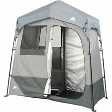 Portable Camping Beach Shower Tent Changing Room Pop Up Instant Shelter 2 Room