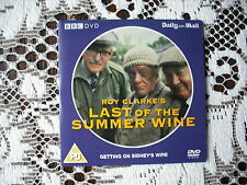 PROMO DVD TV COMEDY - LAST OF THE SUMMER WINE- GETTING ON SIDNEYS WIRE.