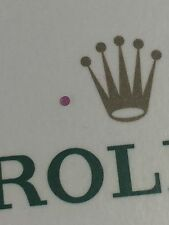 GENUINE  Rolex 1530 3035 3135 - 95019 - 3,  Balance Cap Jewel For Upper OR Lower