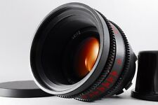 【Very Rare! PL Mount!】Leica Leitz 80mm T/1.4 Cinema Lens w/Caps From JAPAN #2070