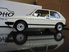 VOLKSWAGEN GOLF GTI RABBIT OTTO OTTOMOBILE OTTOMODELS 1/18