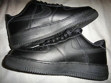 Nike Air Force 1 Low Black Basketball Shoes Size 8 315122-001