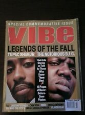 VIBE Magazine - Tupac Shakur - Notorious B.I.G.- N.W.A. - October 1999