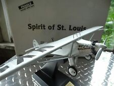 Danbury Mint Spirit Of St Louis Replica Wood Plane 1:32 Scale Model Airplane